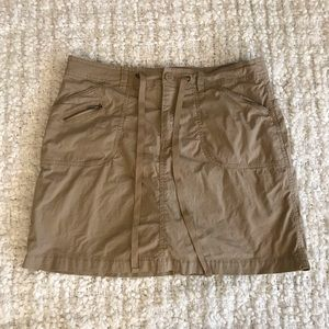 Khaki Skirt/Skort size 10